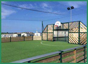 A sports pitch