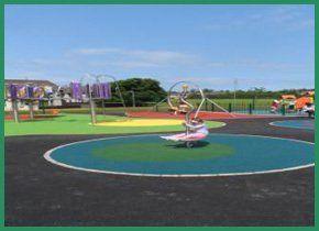 Circular play area