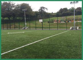 Green sports court
