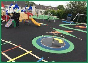 Large colourful play area