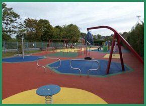 A soft play area