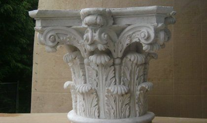 Arch corbels