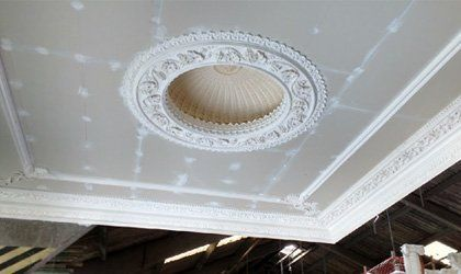 Beautiful ceiling decoration