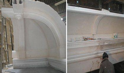 Corner restoration