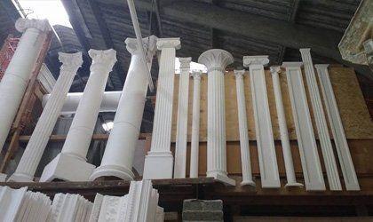 Plaster columns