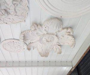 Floral ceilings
