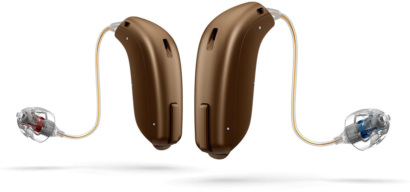 Oticon OPN in Chestnut Brown