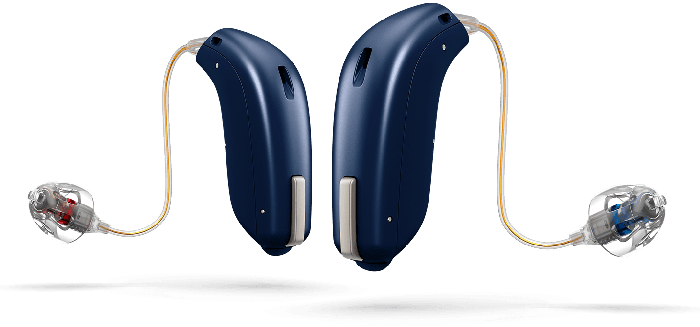 Oticon OPN in Royal Blue