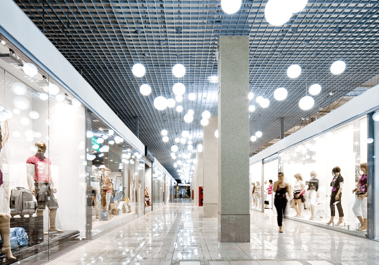 Retail lighting installations in hove commercial complex lighting aloadofball Images