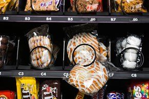 Sweet vending machine in Kidderminster,