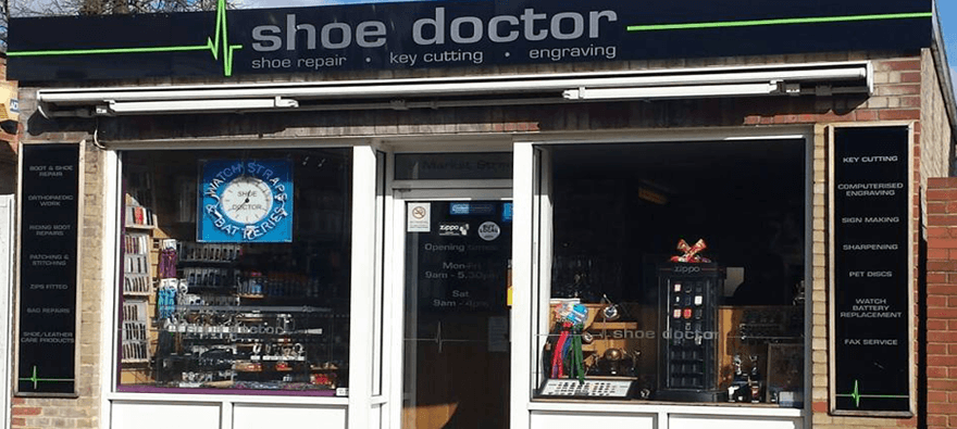 shoe repair experts