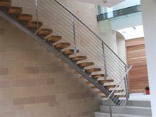 commercial steel fabrication - Ryedale, North Yorkshire - Ryedale Steel Fabrications - steel staircase