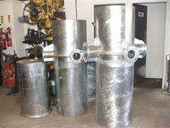 industrial steel fabrication - Ryedale, North Yorkshire - Ryedale Steel Fabrications - industrial tubing
