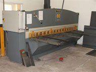 steel fabrication - Ryedale, North Yorkshire - Ryedale Steel Fabrications - steel press