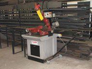 steel fabrication - Ryedale, North Yorkshire - Ryedale Steel Fabrications - steel cutting
