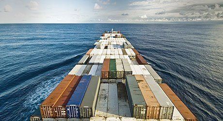 Fluid transport in ship