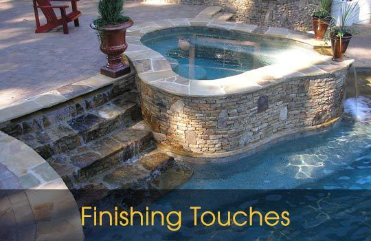 custom pool contractors Concord NC