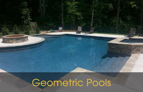 geometric pools Waxhaw NC