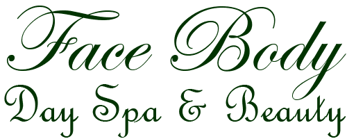 face body day spa and beauty salon logo