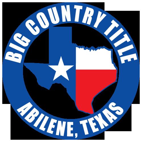 Real Estate Title Company Abilene, TX