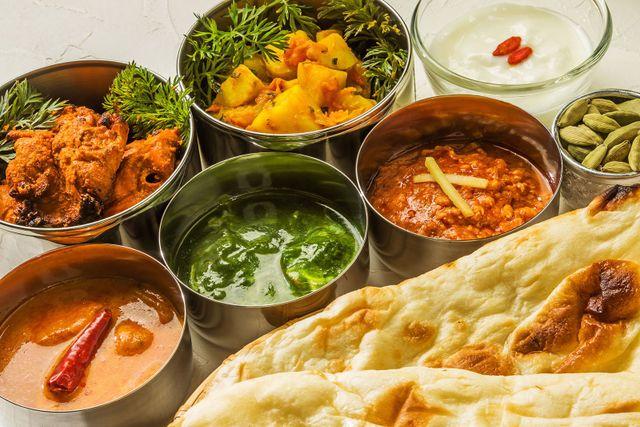 pollo Mughla e altri piatti indiani