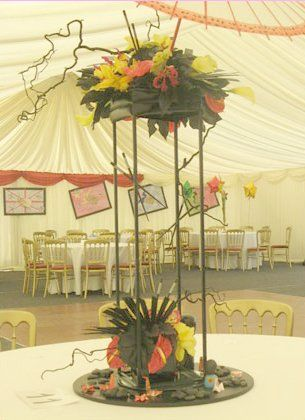 Example of table decoration