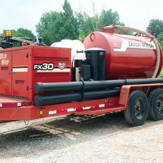 K&G Plumbing & Heating heavy equipment