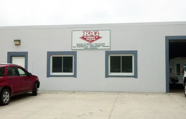 The K&G Plumbing & Heating building
