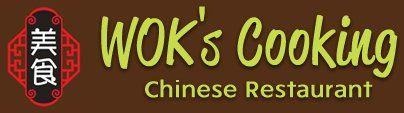 WOK's cooking logo