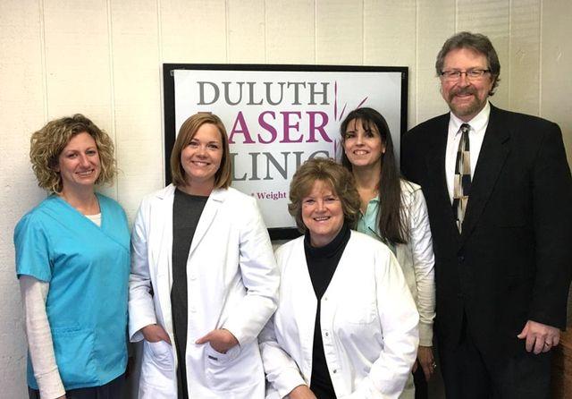 laser weight loss, duluth laser staff