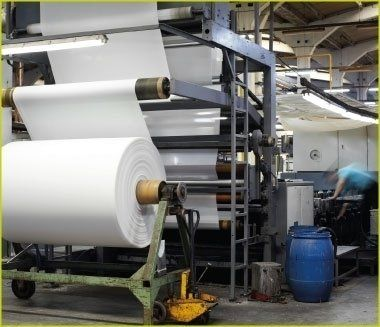 shearing of fabrics to foam material