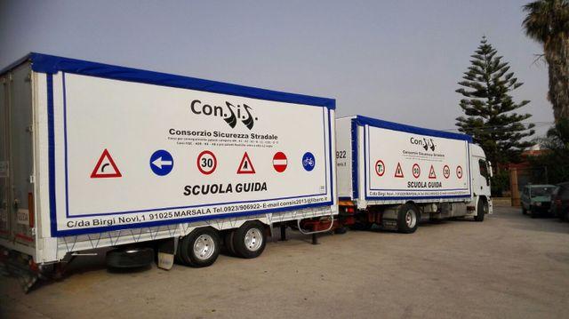 Rivestimenti camion e auto a Marsala