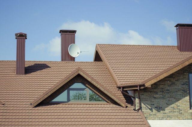 Un tetto moderno appena ristrutturato