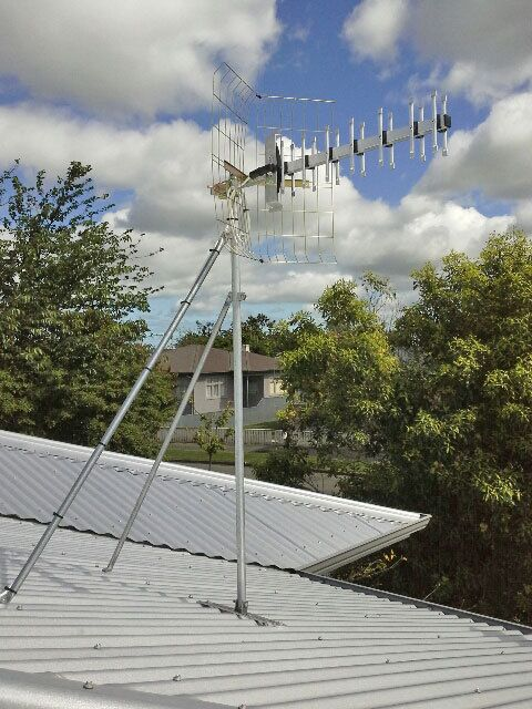 Afterrenovation of the antenna