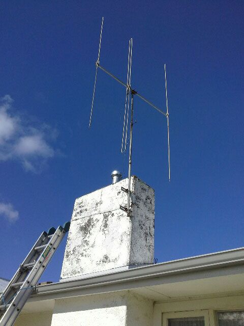 Antenna before renovation