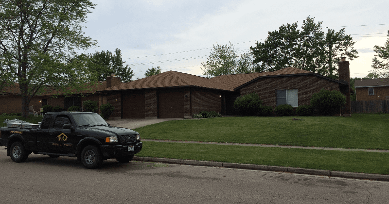 New roof being installed by expert in Greater Dayton
