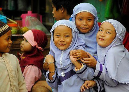 Indonesienreise Java Kinder