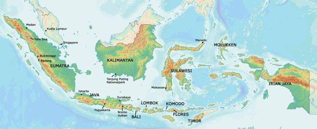 Indonesien Karte.Indonesien Info Reisezeit Maya Travels Asien Reiseziele