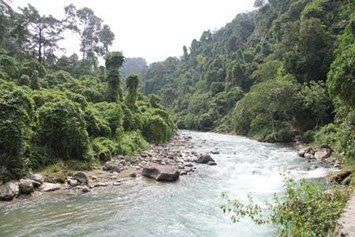 Sumatra Rundreise Bohorok River