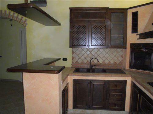 Una cucina angolare