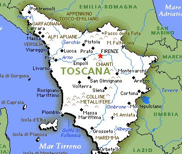 Cartina Geografica Della Toscana.Toscana 2021 Viaggiare In Toscana Eventi Localita E Attivita Per La Tua Vacanza