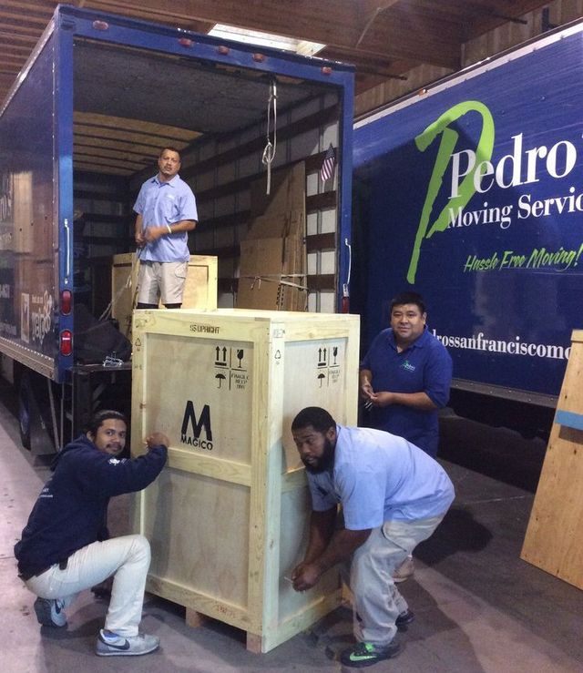 Diamond Certified Moving Services from Pedro's Moving & Storage