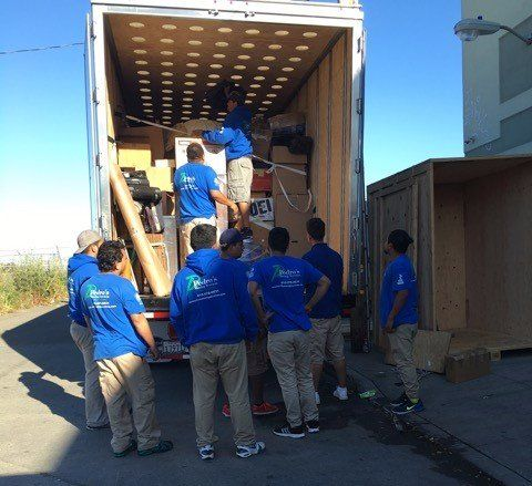 High Quality Moving Services throughout the Bay Area