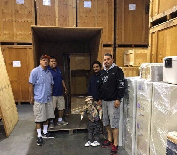 Crating and Storage Services from Pedro's Moving & Storage