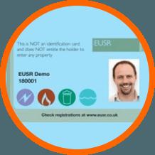 EUSR demo certificate