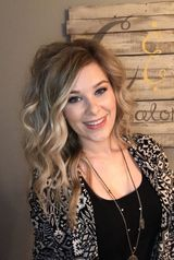 Chelsea Spack is a stylist at Cass and Company Salon in Avon, Indiana.