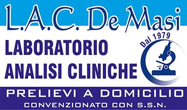 LABORATORIO DI ANALISI CLINICHE DOTT.SSA A. DE MASI E C. sas - LOGO