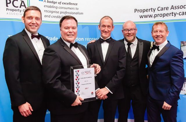 Richardson & Starling - Contractor of the year award