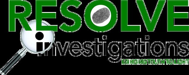 Resolve Investigations Logo