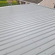 corrugated sheet roofing
